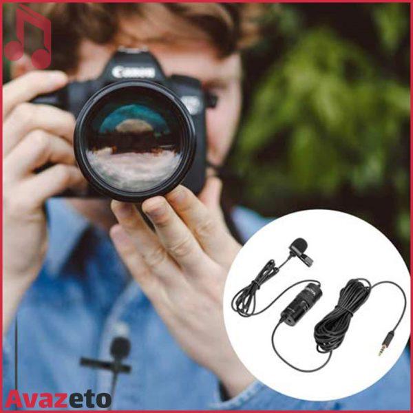 میکروفن Boya M1 PRO دوربین