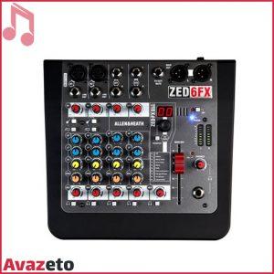 Mixer ALLEN & HEATH-ZED-6FX