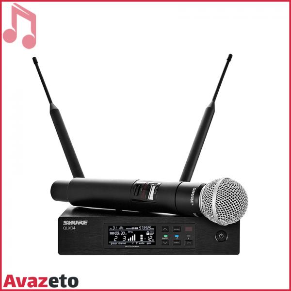 Microphone Shure QLXD24 SM58